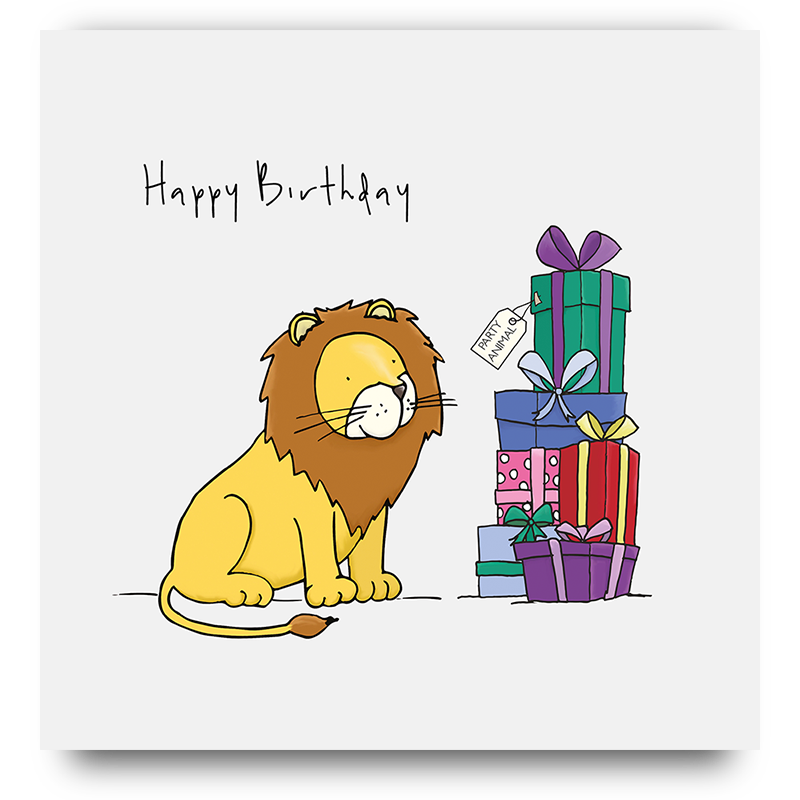 Happy Birthday Lion