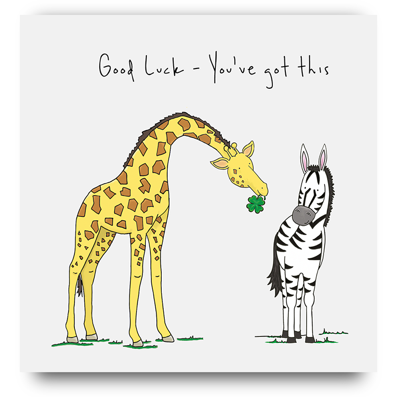 Good Luck! You've got this